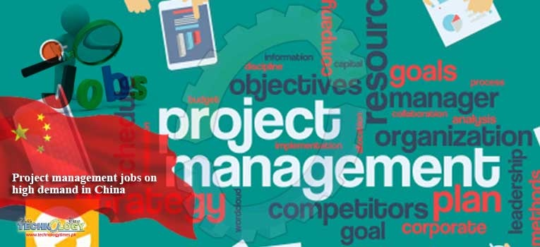 Project management jobs on high demand in China