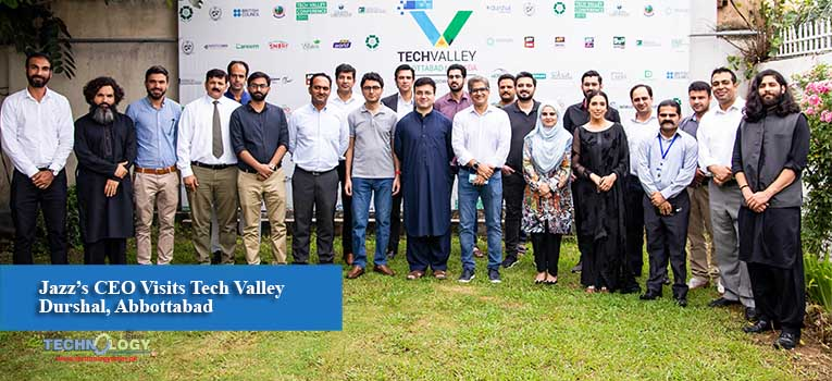 Jazz's CEO Visits Tech Valley Durshal, Abbottabad
