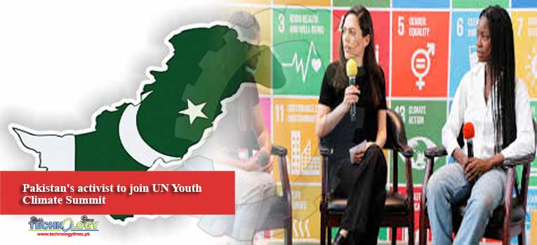 Pakistan's activist to join UN Youth Climate Summit