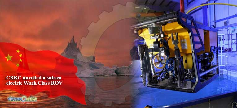 CRRC unveiled a subsea electric Work Class ROV