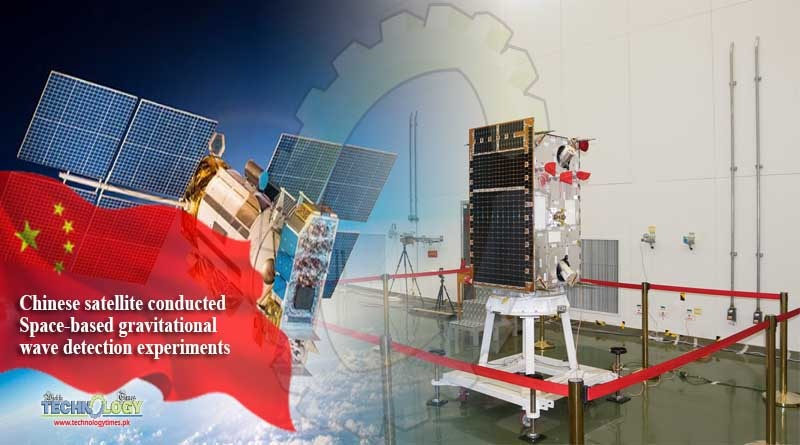 Chinese satellite conducted Space-based gravitational wave detection experiments