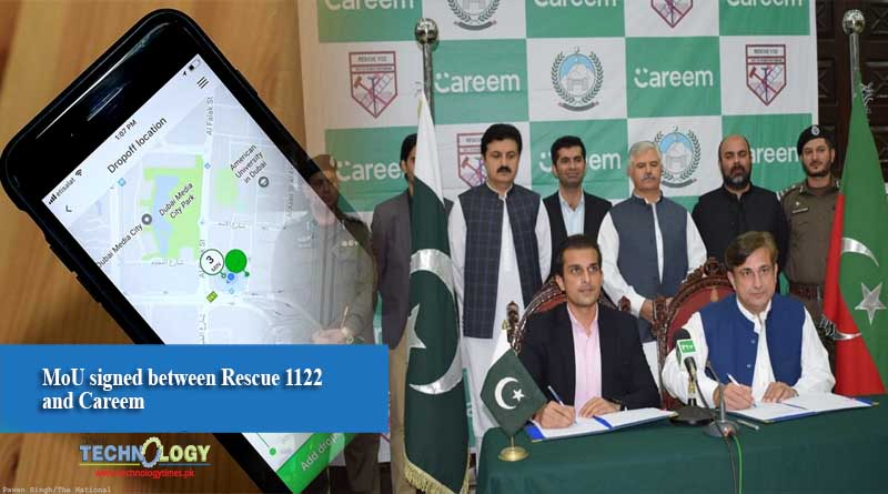 MoU signed between Rescue 1122 and Careem