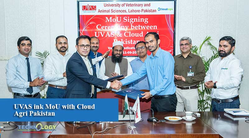 UVAS ink MoU with Cloud Agri Pakistan