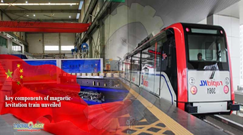 key components of magnetic-levitation train unveiled