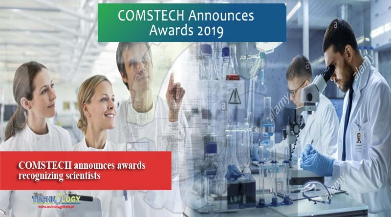 COMSTECH announces awards recognizing scientists