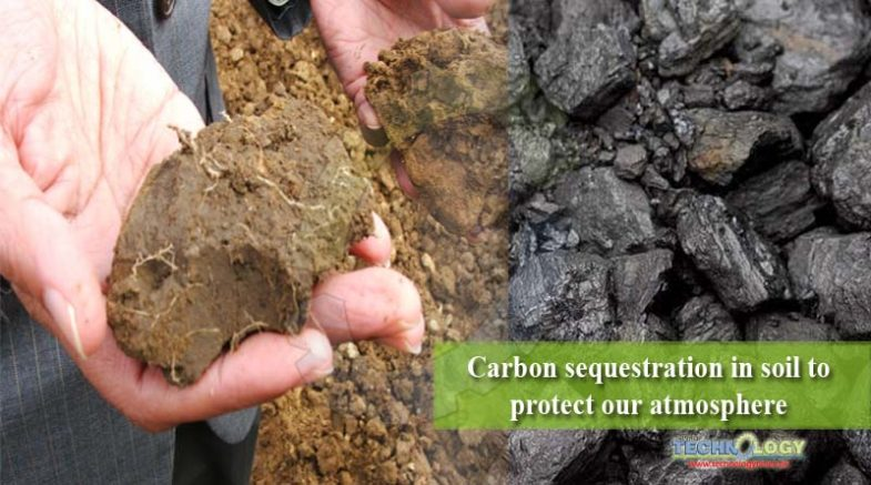 Carbon sequestration in soil to protect our atmosphere