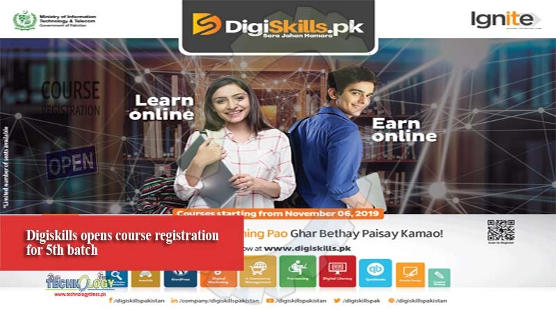 Digiskills opens course registration for 5th batch