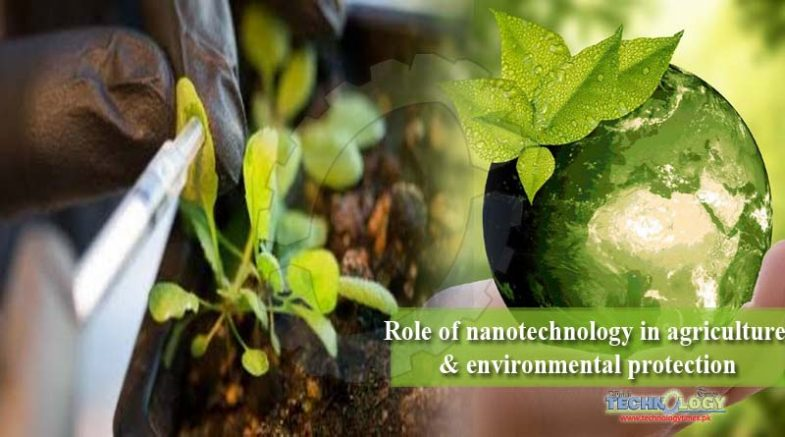 Role of nanotechnology in agriculture & environmental protection