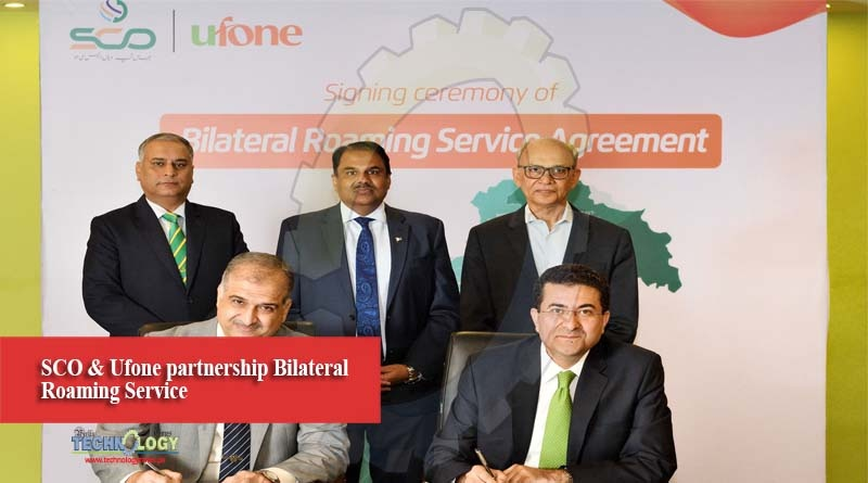 SCO & Ufone partnership Bilateral Roaming Service