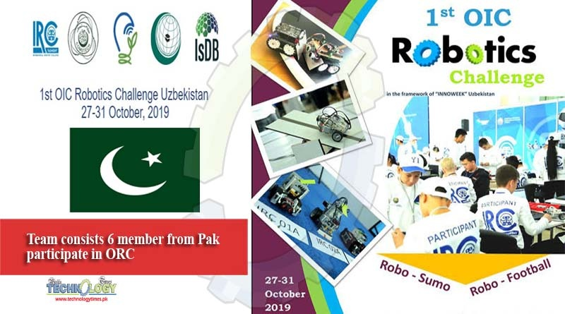 Team consists 6 member from Pak participate in ORC