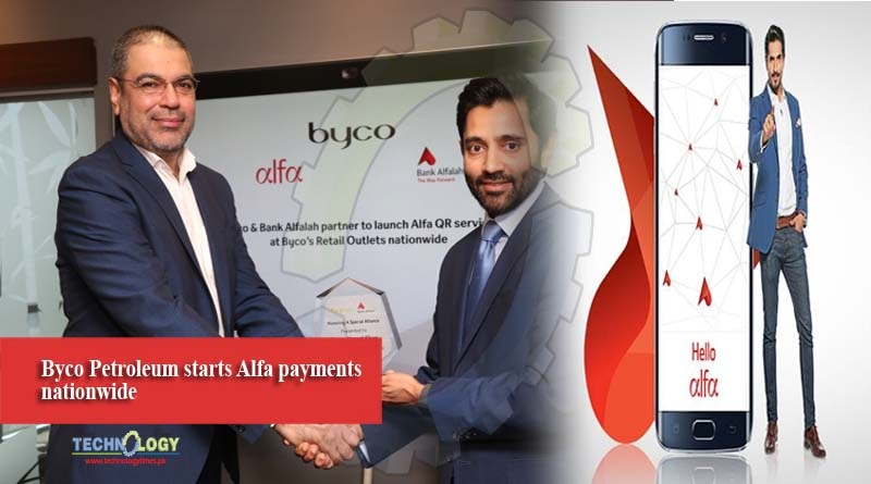 Byco Petroleum starts Alfa payments nationwide