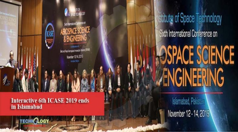 Interactive 6th ICASE 2019 ends in Islamabad