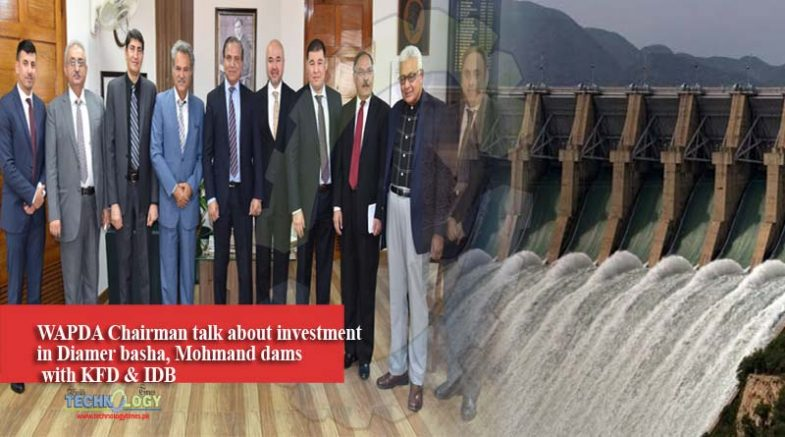 WAPDA Chairman talk about investment in Diamer basha, Mohmand dams with KFD & IDB