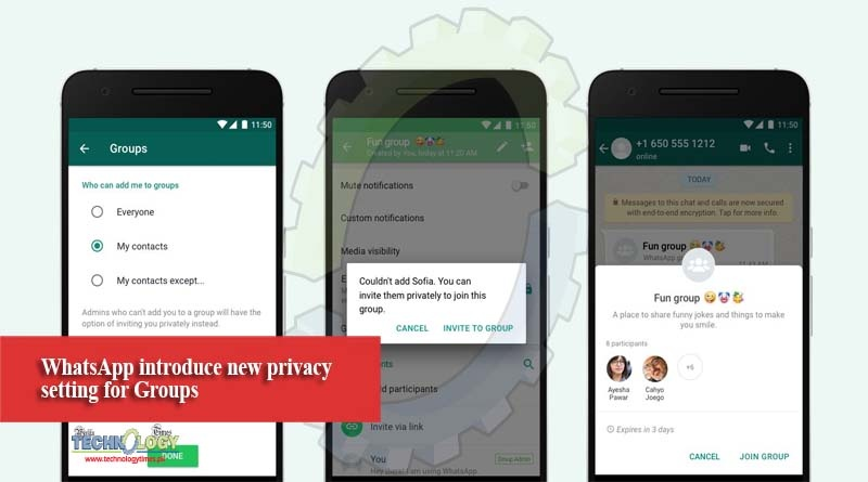 WhatsApp introduce new privacy setting for Groups
