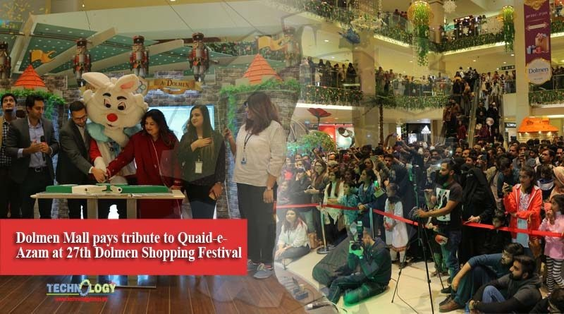 Dolmen Mall pays tribute to Quaid-e-Azam at 27th Dolmen Shopping Festival