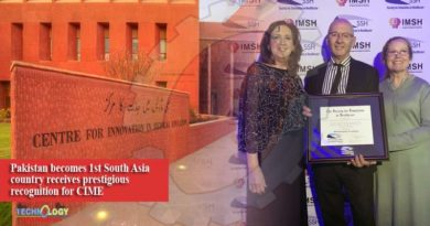 Pakistan becomes 1st South Asia country receives prestigious recognition for CIME