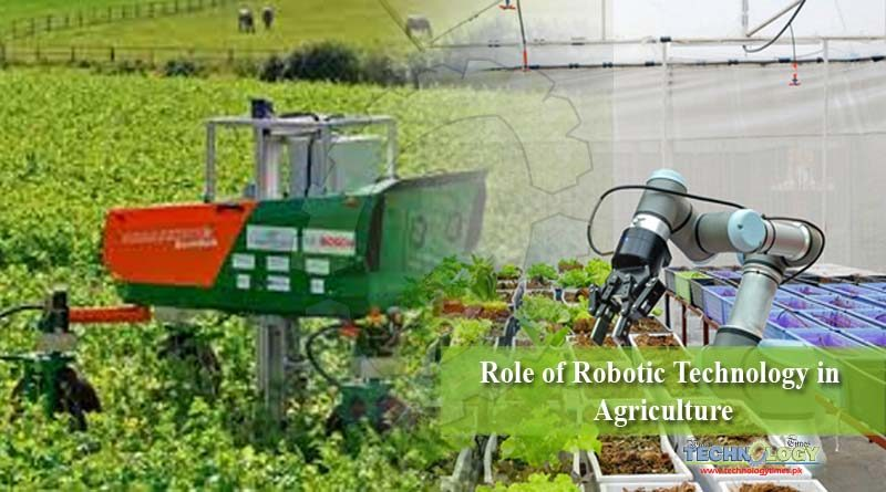 Role of Robotic Technology in Agriculture