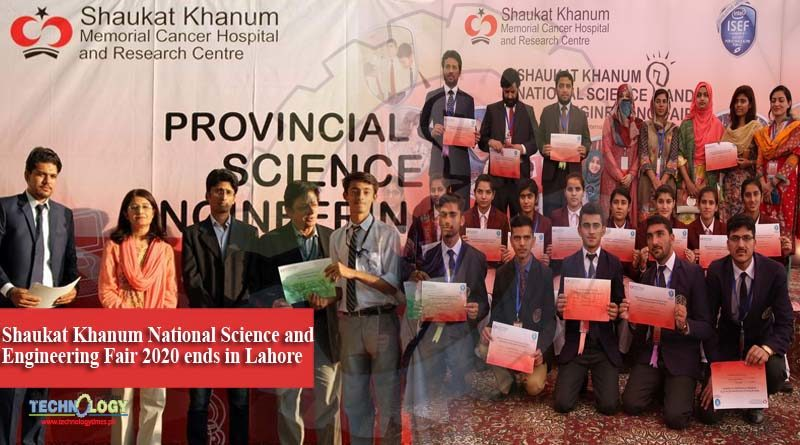Shaukat Khanum National Science and Engineering Fair 2020 ends in Lahore