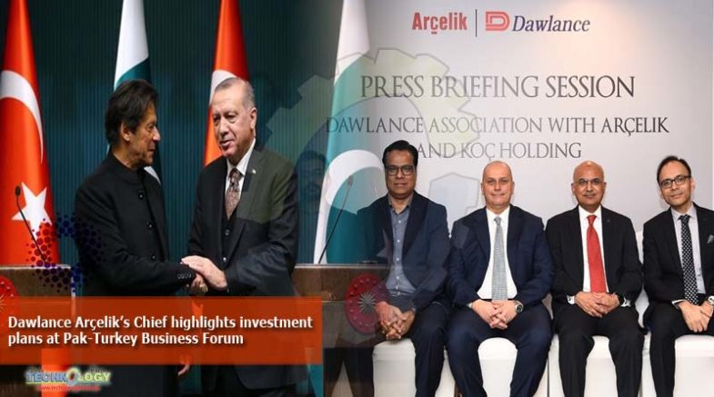 Dawlance Arçelik's Chief highlights investment plans at Pak-Turkey Business Forum