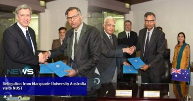 Delegation from Macquarie University Australia visits NUST