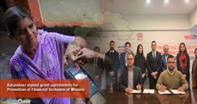 Karandaaz signed grant agreements for Promotion of Financial Inclusion of Women