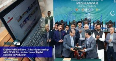 Khyber Pakhtunkhwa IT Board partnership with PCSIR for construction of Digital complex in Peshawar