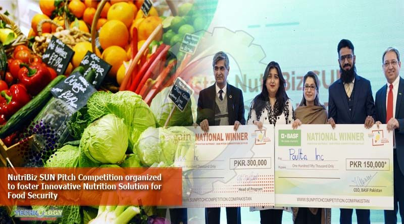 NutriBiz SUN Pitch Competition organized to foster Innovative Nutrition Solution for Food Security