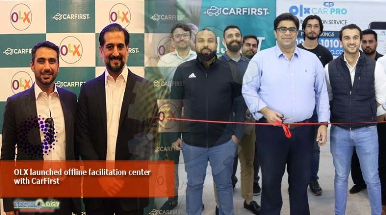 OLX launched offline facilitation center with CarFirst
