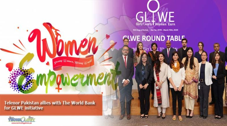 Telenor Pakistan allies with The World Bank for GLWE initiative