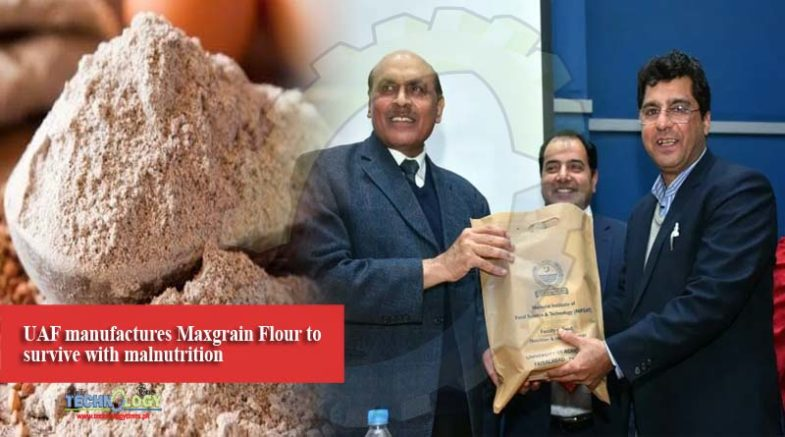 UAF manufactures Maxgrain Flour to survive with malnutrition