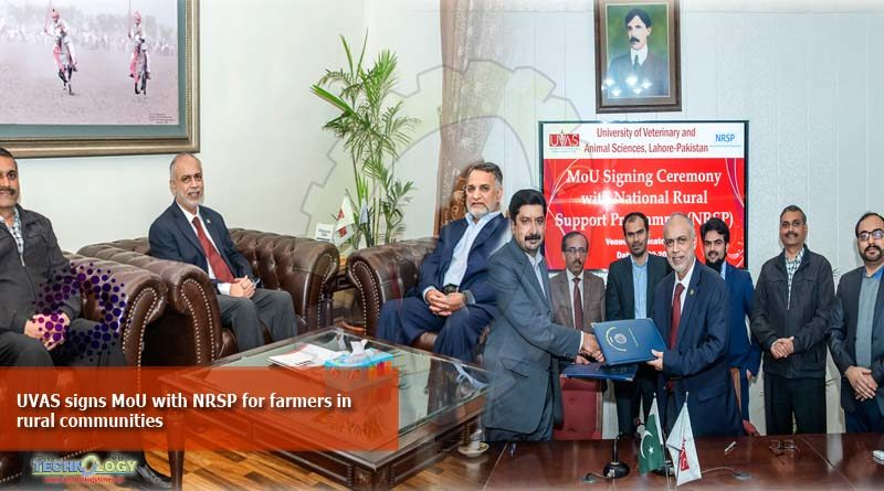 UVAS signs MoU with NRSP for farmers in rural communities
