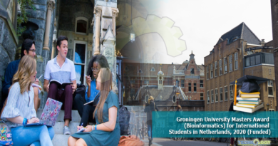 Groningen-University-Masters-Award-Bioinformatics-for-International-Students-in-Netherlands-2020-Funded.