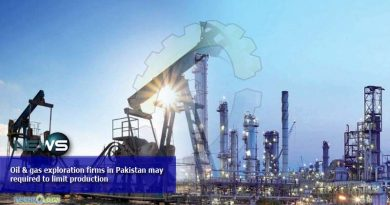 Oil & gas exploration firms in Pakistan may required to limit production