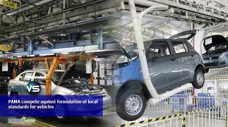 PAMA compete against formulation of local standards for vehicles
