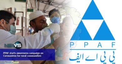 PPAF starts awareness campaign on Coronavirus for rural communities