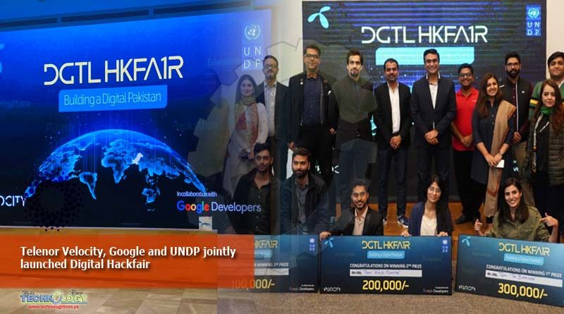Telenor Velocity, Google and UNDP jointly launched Digital Hackfair