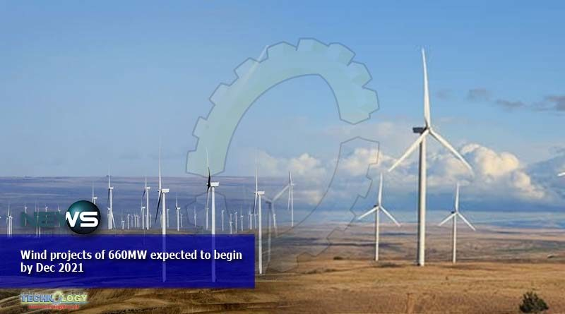 Wind projects of 660MW expected to begin by Dec 2021