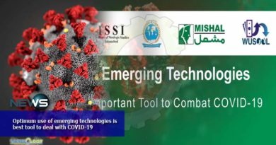 Optimum use of emerging technologies is best tool to deal with COVID-19