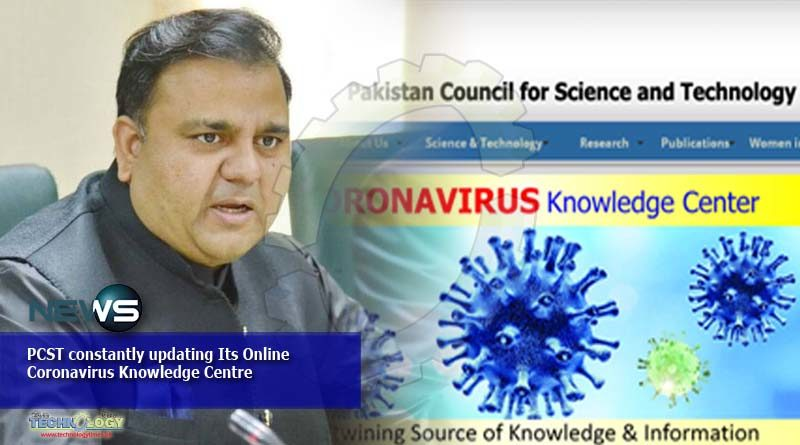 PCST constantly updating Its Online Coronavirus Knowledge Centre