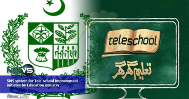 SMS system for Tele-school improvement initiates by Education ministry