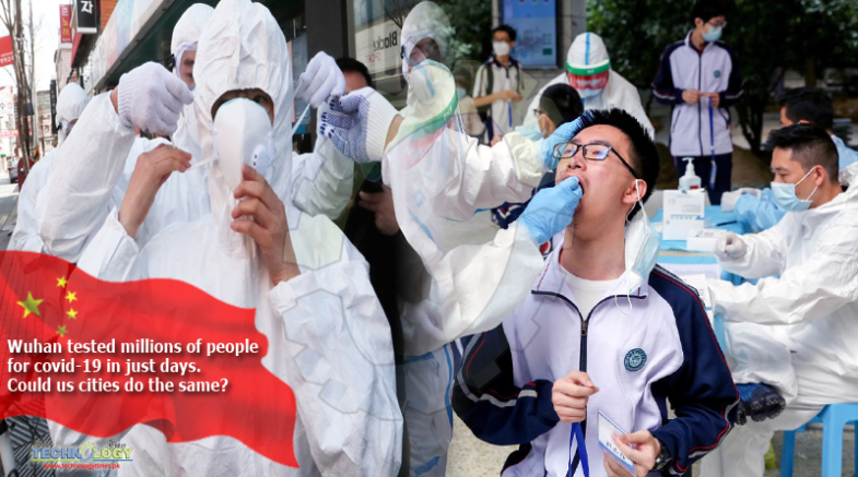 Wuhan tested millions of people for covid-19 in just days. Could us cities do the same?