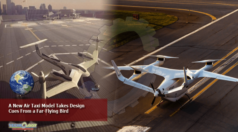 A New Air Taxi Model Takes Design Cues From a Far-Flying Bird