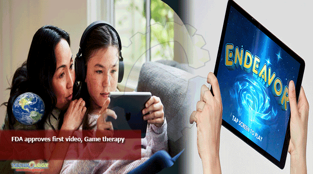 FDA approves first video, Game therapy