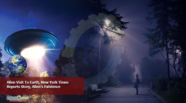 Alien Visit To Earth, New York Times Reports Story, Alien's Existence