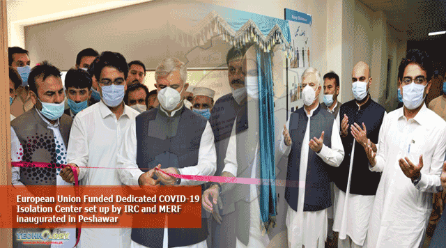 European-Union-Funded-Dedicated-COVID-19-Isolation-Center-set-up-by-IRC-and-MERF-inaugurated-in-Peshawar.