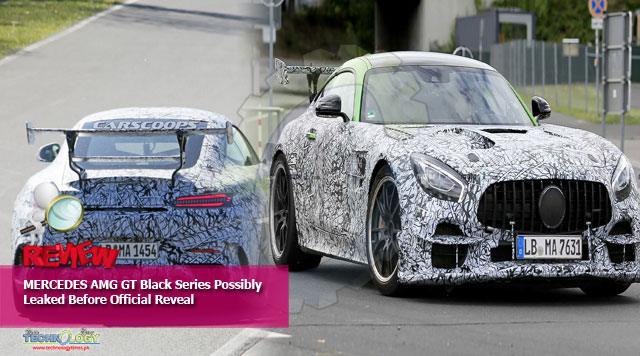 MERCEDES AMG GT Black Series Possibly Leaked Before Official Reveal