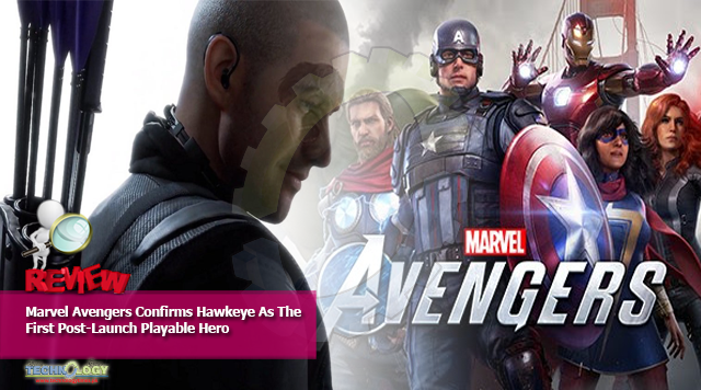 Marvel Avengers Confirms Hawkeye As The First Post-Launch Playable Hero