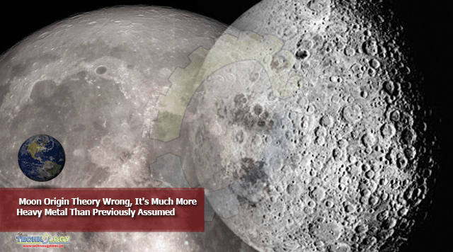 Moon Origin Theory Wrong, It's Much More Heavy Metal Than Previously Assumed