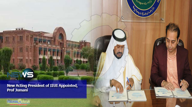 New Acting President of IIUI Appointed, Prof Jumani