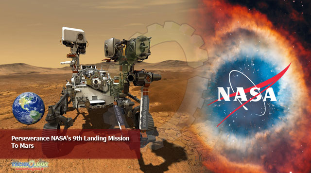 Perseverance NASA's 9th Landing Mission To Mars